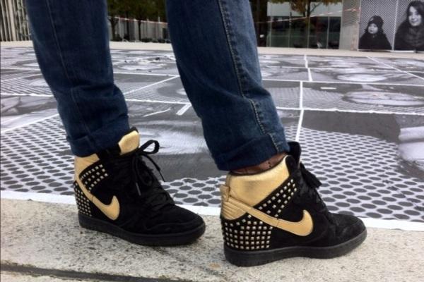 Nike Sky Hi Gold
